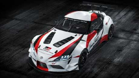 Toyota's performance and motorsport arm, Gazoo Racing, developed the concept vehicle. Pic: Supplied.