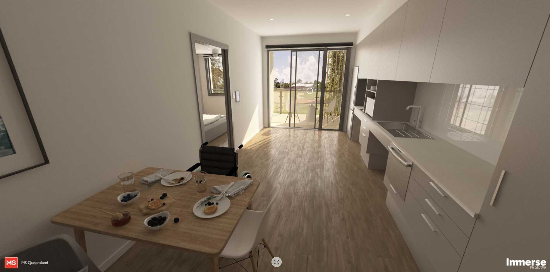 The WG Group are proud to support MS Queensland. Our virtual reality showcases how Project Dignity 120 apartments will change lives for people in desperate need and help solve the disability housing crisis.