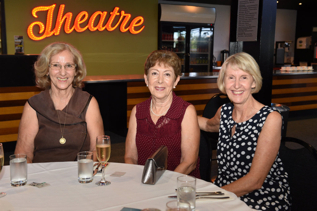 Image for sale: Maryborough Zonta Club International Women's Day lunch - (L) Eva Stevanovic, Emet Coban and Sharyn Hinks.