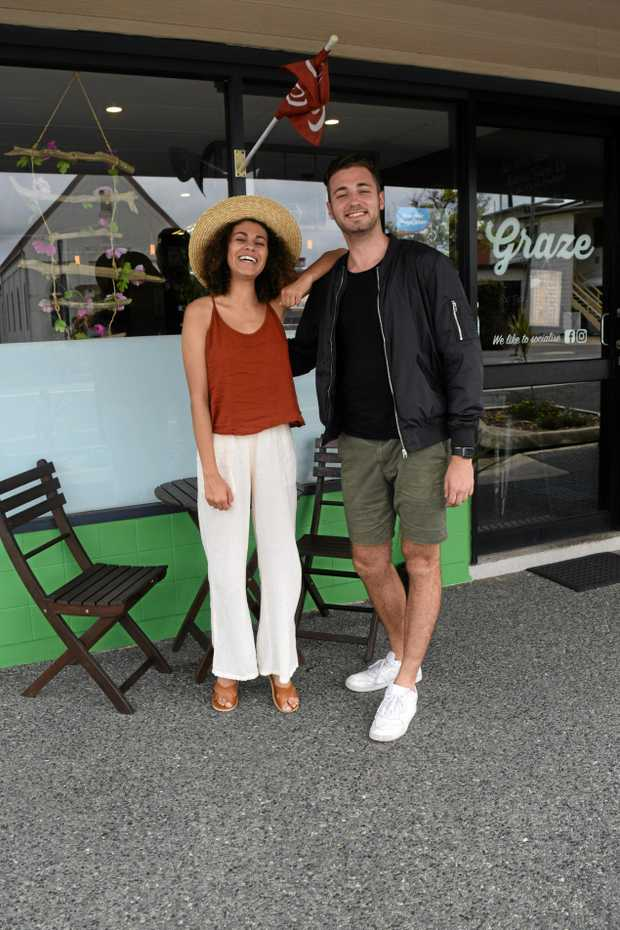 VIRAL SIGHTS: Social influencers, bloggers and filmakers Michael Quinn and Alivia Latimer visited the Whitsundays.