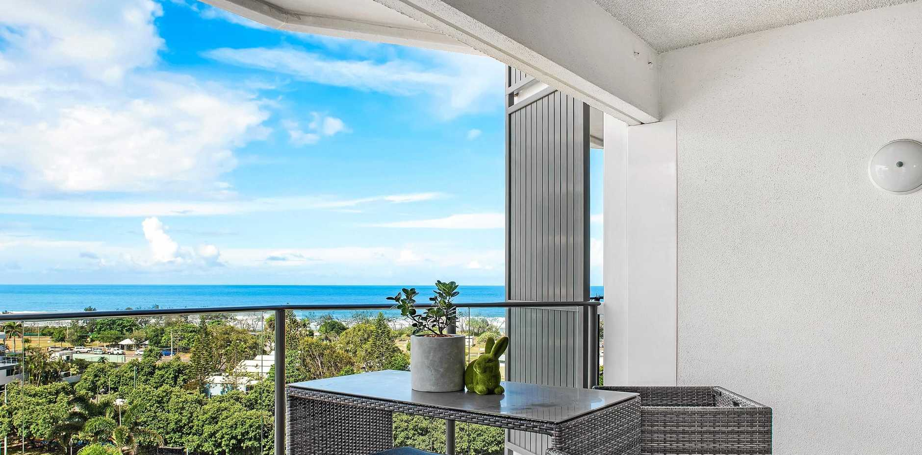 Panoramic ocean views at their glistening best.