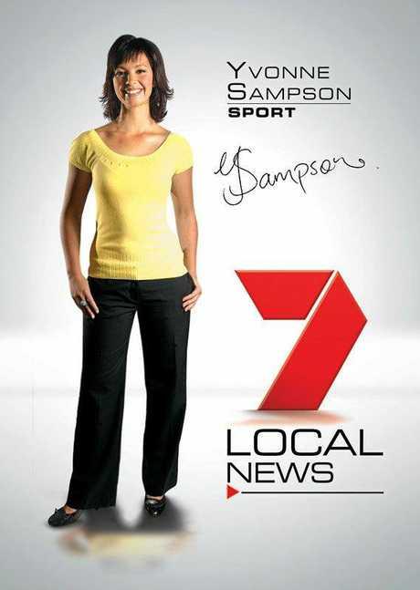Yvonne Sampson working for 7 Sunshine Coast.