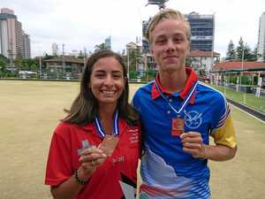 Rixon mixes it with the best on international bowls stage