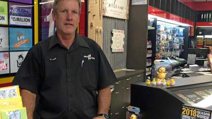 EMERALD NEWS: Peter Murphy, owner of newsXpress Emerald and newsXpress Central Highlands.
