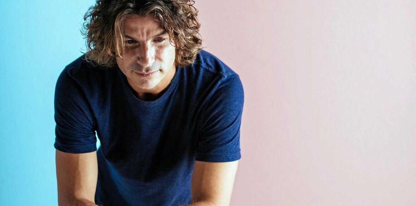 BACK HOME IN PARADISE: Eumundi-grown, acoustic folk musician Tobias.