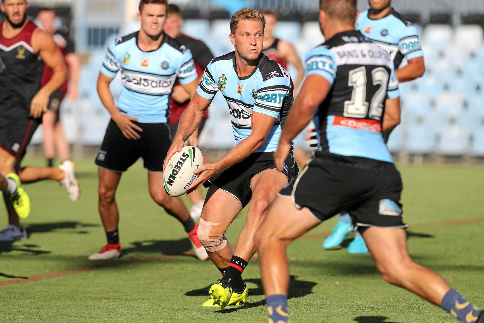 Matt Moylan will need to find his feet quickly at the Sharks.