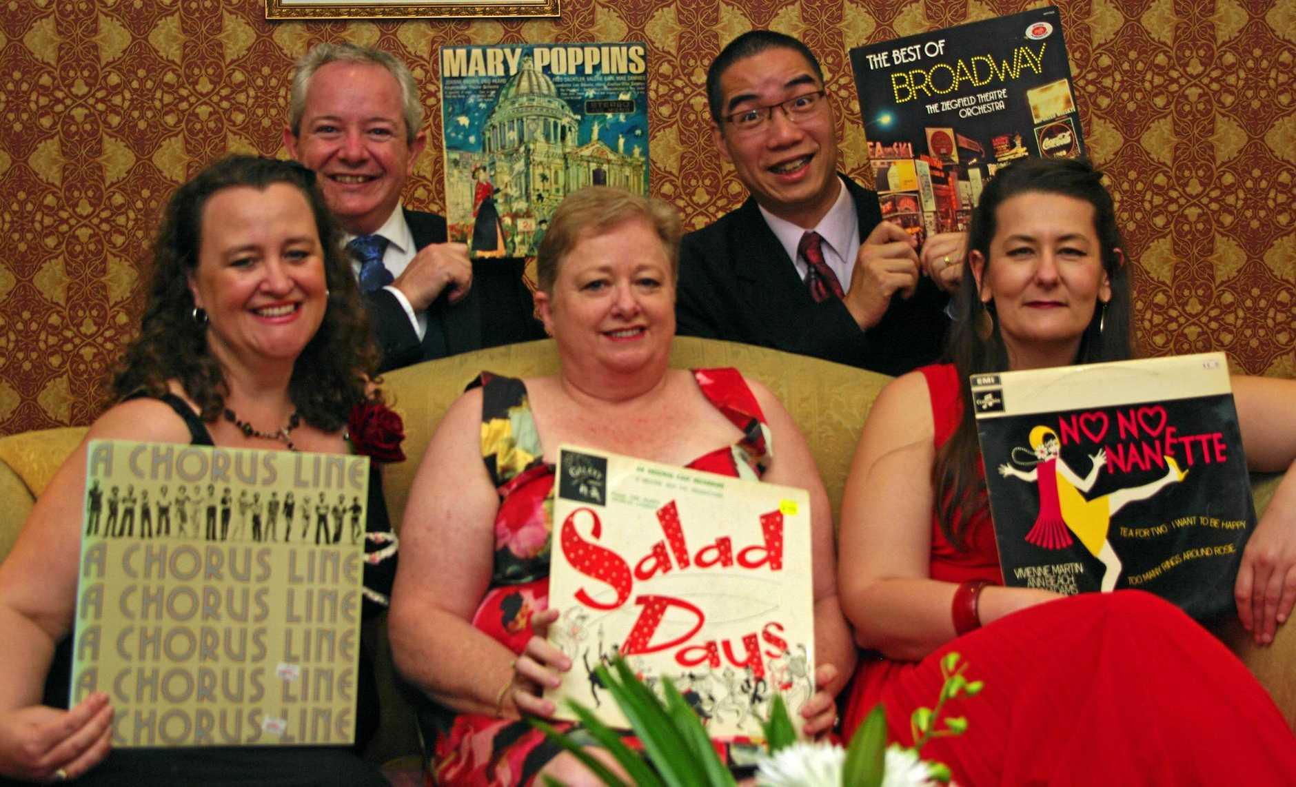 NEW SHOW: A Chap (Bernard Wheaton, above left), Three Divas (D'Arne Sleeman, Elizabeth Hood and Louise Dorsman) and a Piano (Mark Leung) returns to Yandina on March 18.