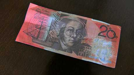Fake $20 notes have been circulating around Bundy.