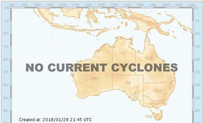 Potential for a cyclone to form in the Coral Sea already has a name allocated.