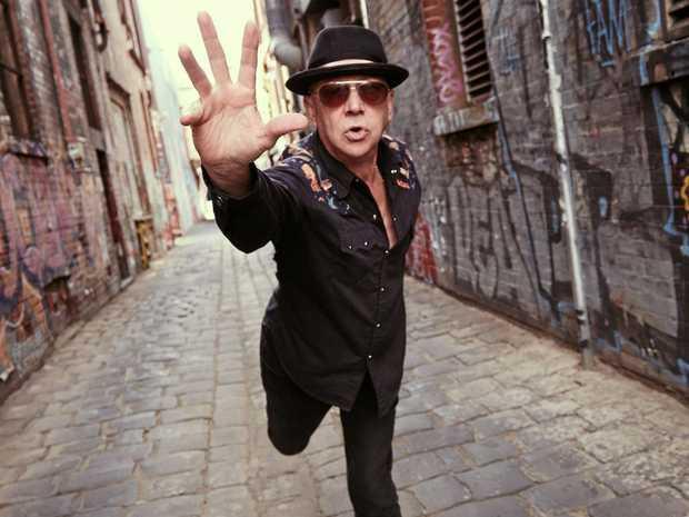 CAN'T WAIT: Australian musician Russell Morris.