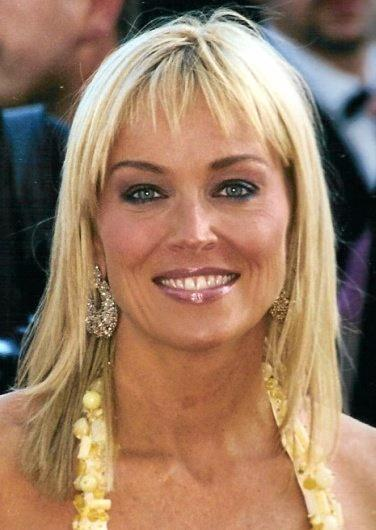 Stone in 2005, the year before Basic Instinct 2 was released.