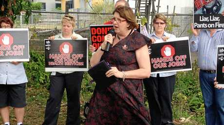 Qld Nurses Union secretary Beth Mohle wants aged care facilities to reveal their staffing levels.
