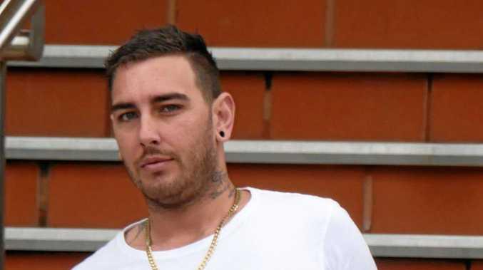 Trevor Dylan Woodman, 25, of Pialba, leaves Hervey Bay Magistrates Court.