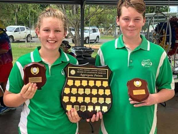 TROPHY SECURED: Emerald Seals received the Total Points Trophy and the Merilyn Johnsson Aggregate Trophy.