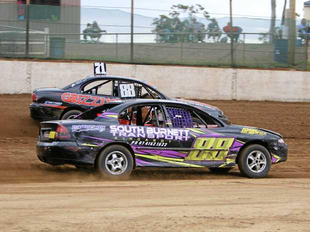 COMPETITION: Nathan Barbeler and Travis Hutchison are ready to battle it out for the Number One position and bragging rights for the next 12 months as the Queensland Street Stock Title winner.