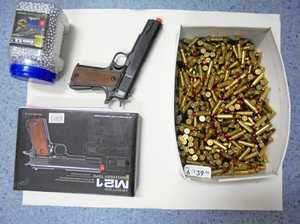 Weapon, drugs found at Fraser Coast home