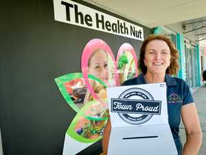 WATCH: Health Nut is Town Proud