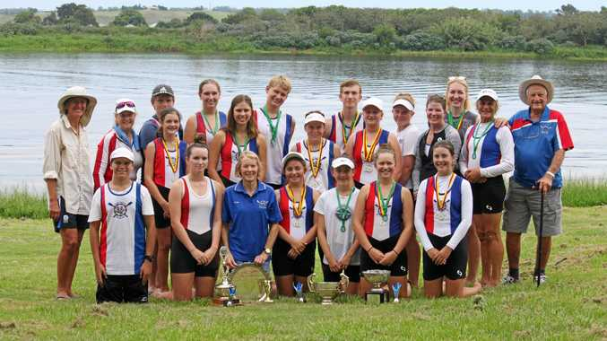 Lower Clarence Rowing Club members scooped the pool at the recent Iluka Rowing Regatta.