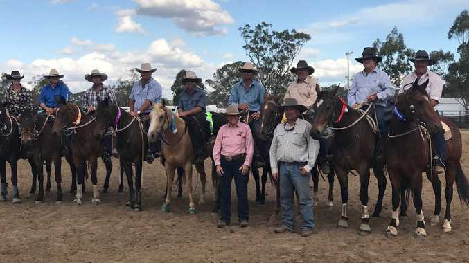Winners from the 2017 Brymaroo Campdraft at the Byrmaroo Rodeo & Campdraft grounds.