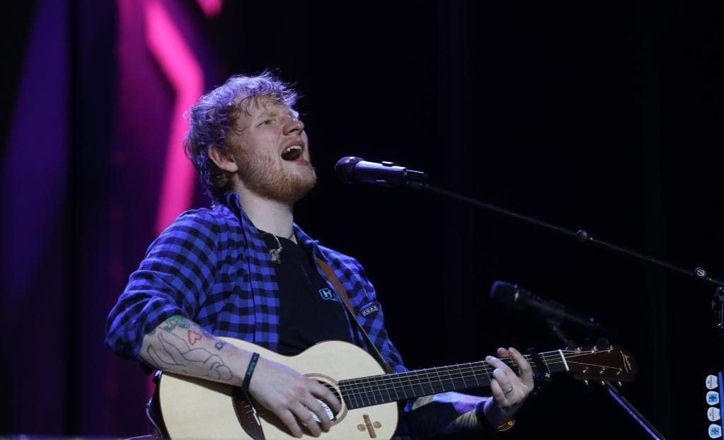 Ed Sheeran visited Coffs Harbour before leaving for his Wednesday night show in Adelaide.