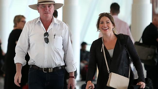Mr Joyce resigned from his position after revelations he was having a baby with former staffer Vikki Campion were followed by Ms Marriott's allegation, which he denies. Picture: Kym Smith