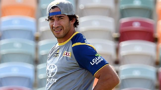 Everyone in the game is glad to see Thurston fit again. (Zak Simmond)