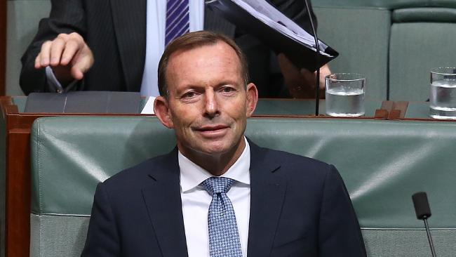 "Tony Abbott said the plans sounds like an ""anti-man agenda"". Picture: Kym Smith"