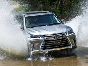 Hulking luxury Lexus LX 4WD finally goes diesel