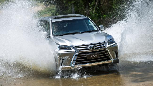 The Lexus LX is about to make a serious splash: a diesel will be added to the line-up for the first time in 20 years. Picture: Supplied.