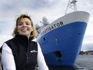 CSIRO Marine research leader Toni Moate.