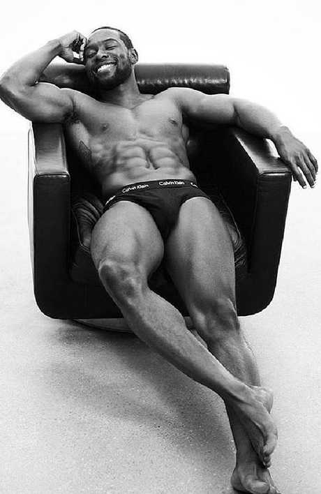 He works out! Picture: Calvin Klein