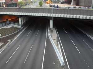 Traffic chaos as truck crash shuts Burnley Tunnel