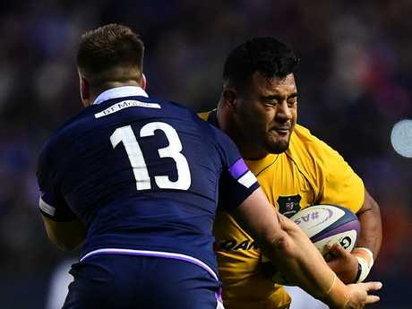 Taniela Tupou made his Wallabies debut last year.