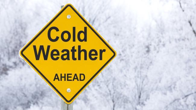 Temperatures are set to plummet.
