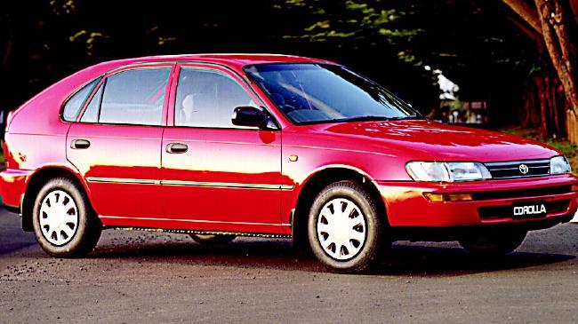 Company car: Toyota Corolla Seca