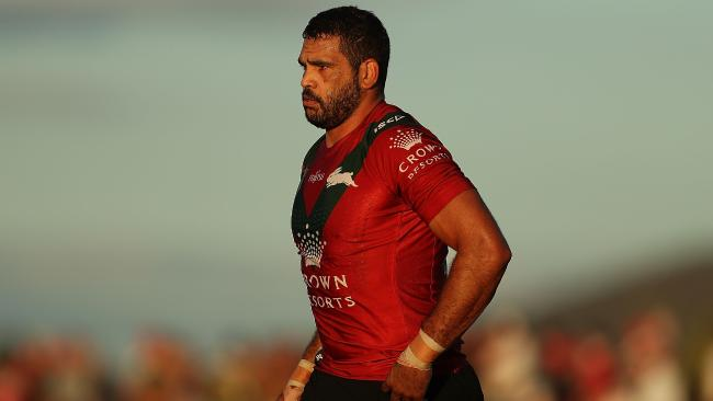 Greg Inglis wants to regain the No.1 jersey for the Rabbitohs.
