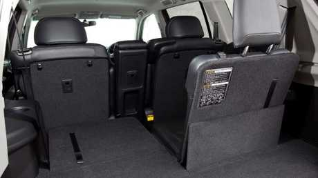 Kluger seven-seater: Space for the tribe plus luggage.