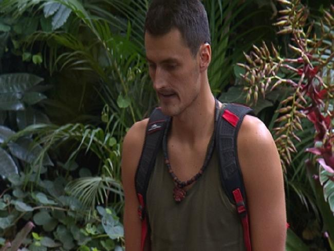 Bernard Tomic leaving the jungle on I'm A Celebrity ... Get Me Out Of Here!