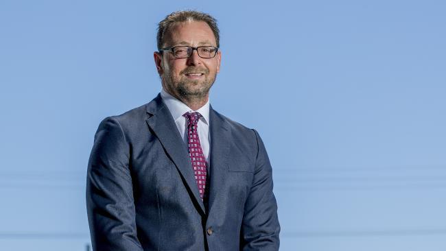 REIQ Gold Coast zone chair Andrew Henderson. Picture: Jerad Williams