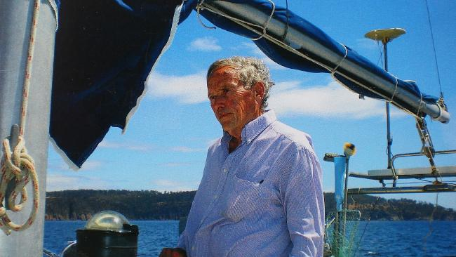 A photo of Bob Chappell taken on the yacht Four Winds just a few days before he disappeared in early 2009.