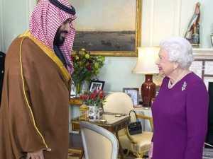 Awkward reality for royal visit