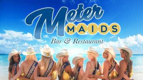 Exterior posts to promote the first ever Meter Maids bar in Surfers Paradise, Gold Coast
