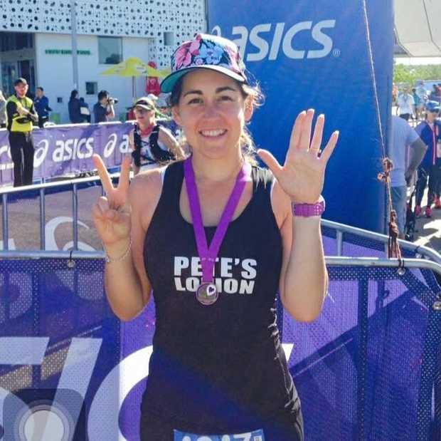 CHAMPION EFFORT: Mel Blanco will run in one of the 777 Marathons in Sydney on June 30.