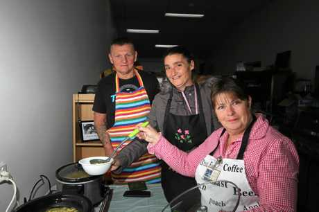 CRISIS POINT: Deb Lightfoot-De Hamer (at right) has been doing everything she can to help the increasing number of homeless people that seek help from the Stanthorpe Community Op Shop.