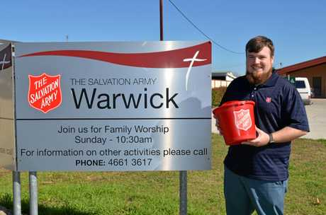 IT'S NOT WHAT YOU SEE: Salvation Army Corps officer Zak Churchill said homelessness was a common problem in Warwick, it's just not visible.