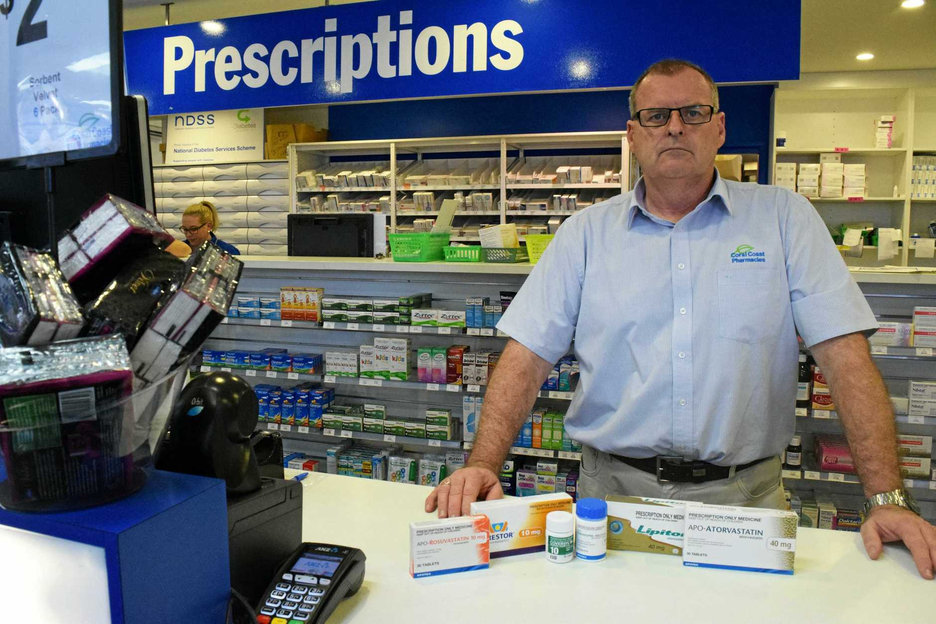 HEALTH CHECK: Pharmacists David Holmes and Scott Williams say the latest PBS price reductions will only hurt pharmacies.