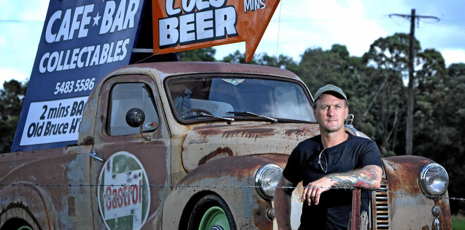 Adam Martin from Hell Town Hotrods in Gympie.