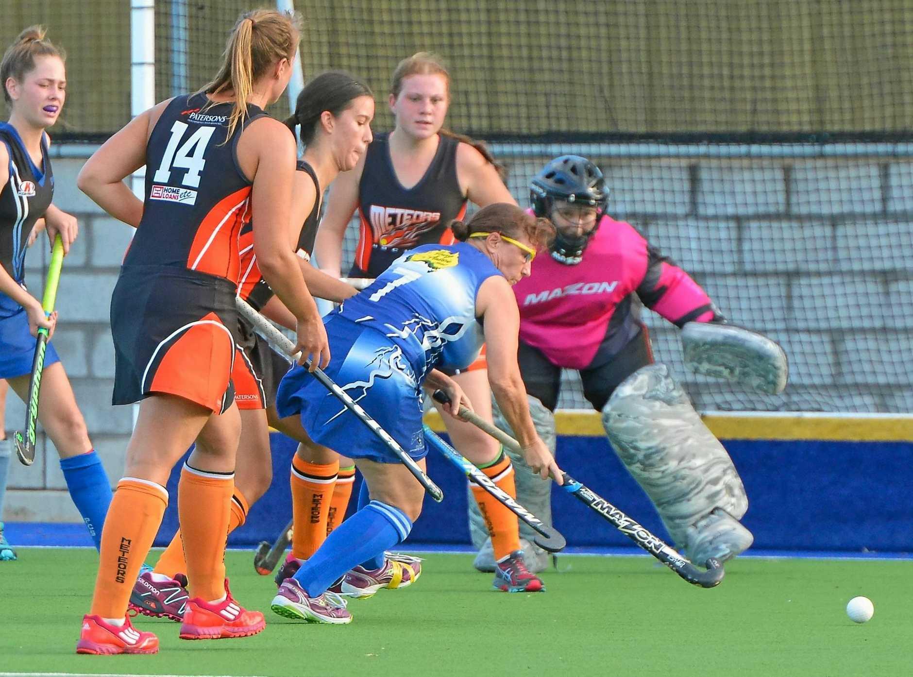 Womens CQ Hockey league - Meteors vs Gladstone Souths
