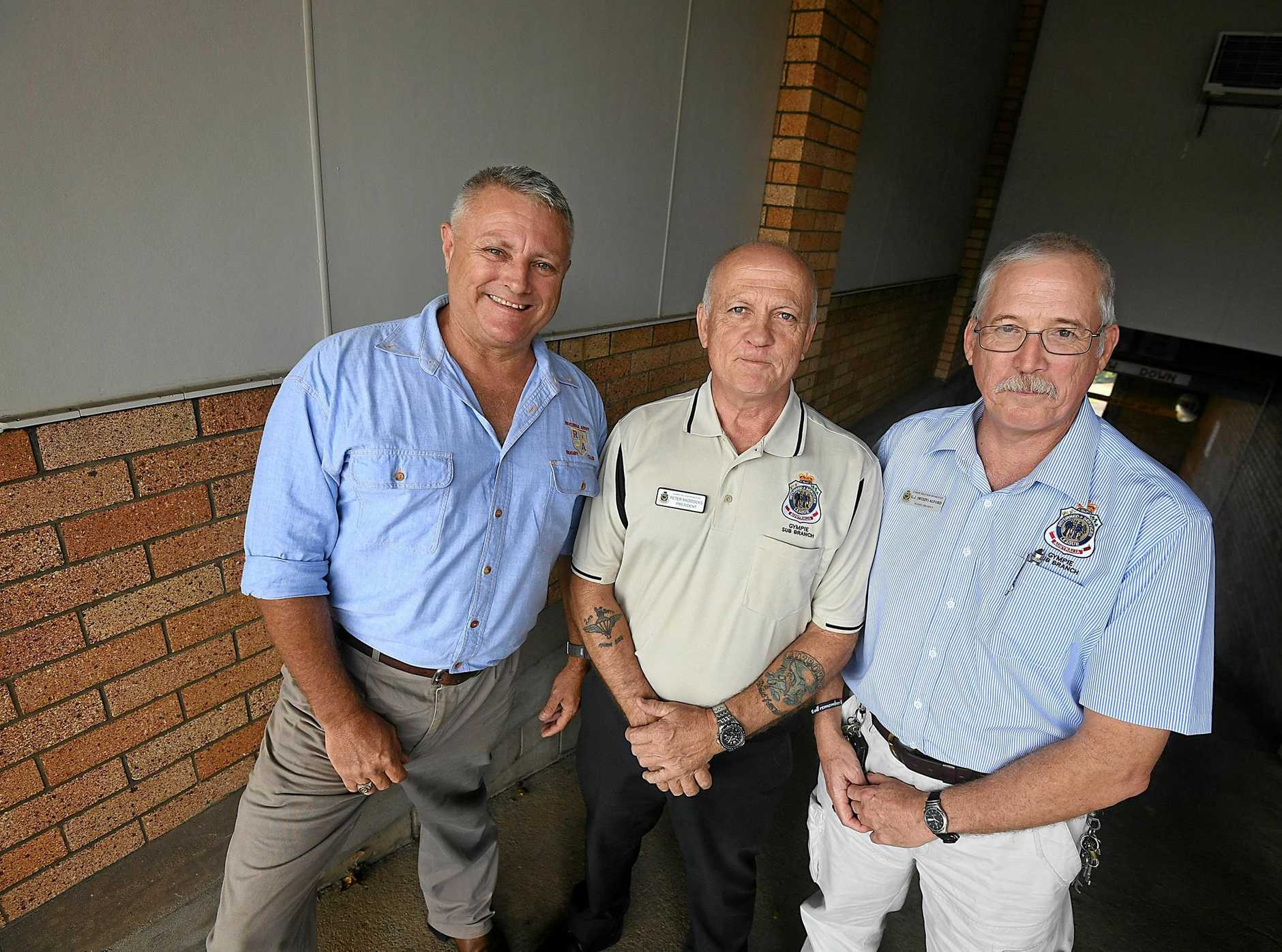 CADETS: Australian Army cadets are reforming in Gympie, say Col Morley, Peter Maddocks and Greg