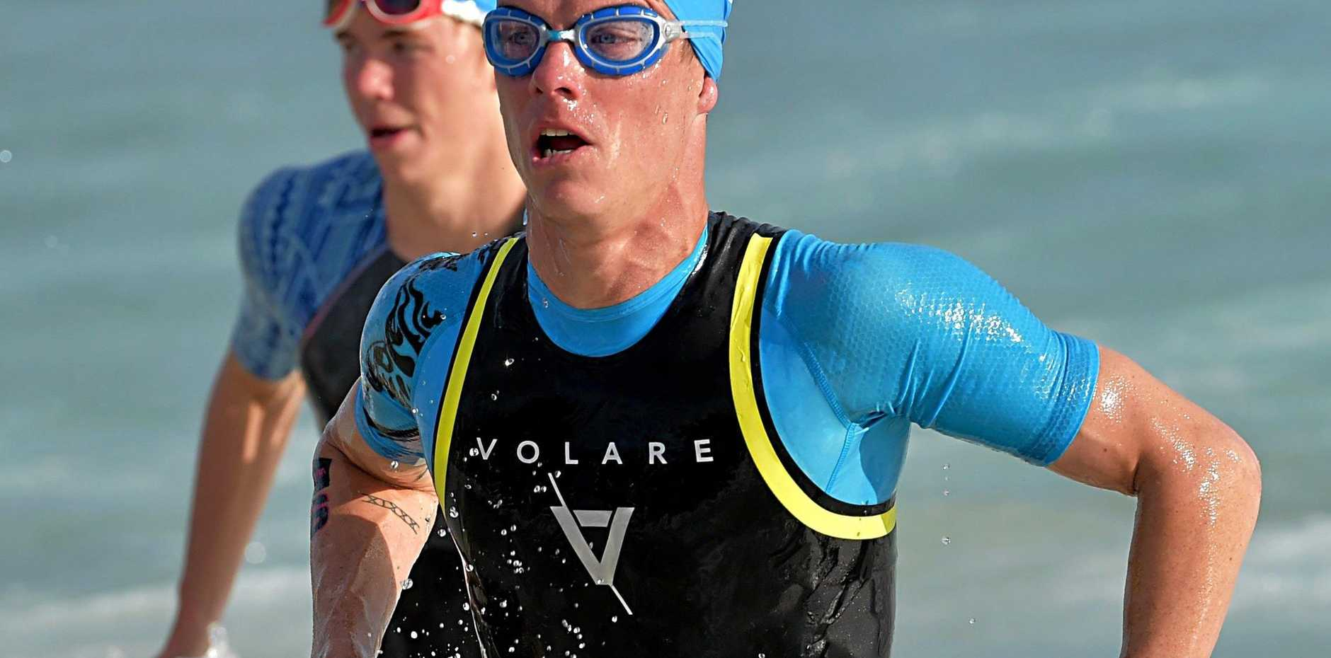 GAME ON: Ryan Bailie is determined to put in a solid effort at Mooloolaba.